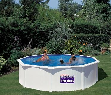 Piscine gre autoportante ronde gre for Thermometre piscine original