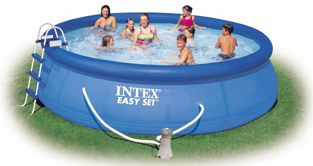 Piscine autoportee pas cher easy set intex for Thermometre piscine original