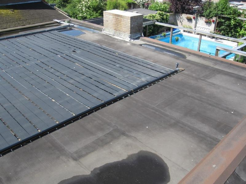 Panneaux solaires epdm harmo pool for Chauffage piscine toiture