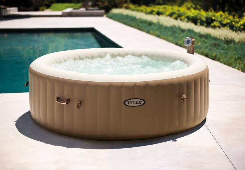 Intex purespa ronde intex 28404 for Prix piscine intex