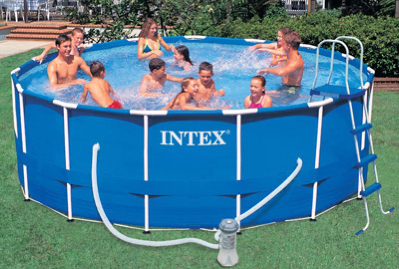 Piscine autoportee intex for Piscina 4x4