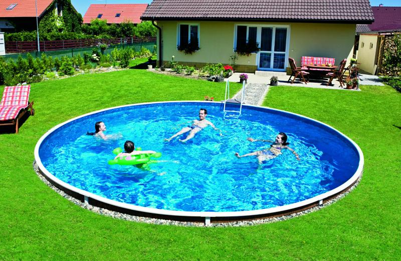 Mountfield azuro piscine enterre mountfield 3exb0055 for Ph piscine trop bas