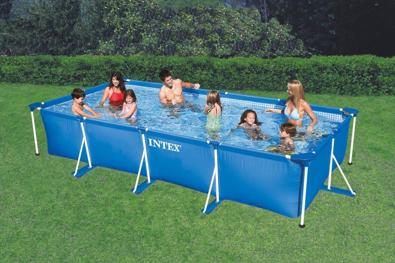 Piscine rectangulaire hors sol intex intex - Piscine rectangulaire hors sol intex ...