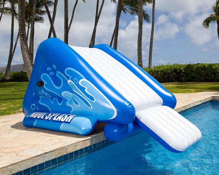 Toboggan gonflable pour piscine intex 58849np for Toboggan gonflable piscine