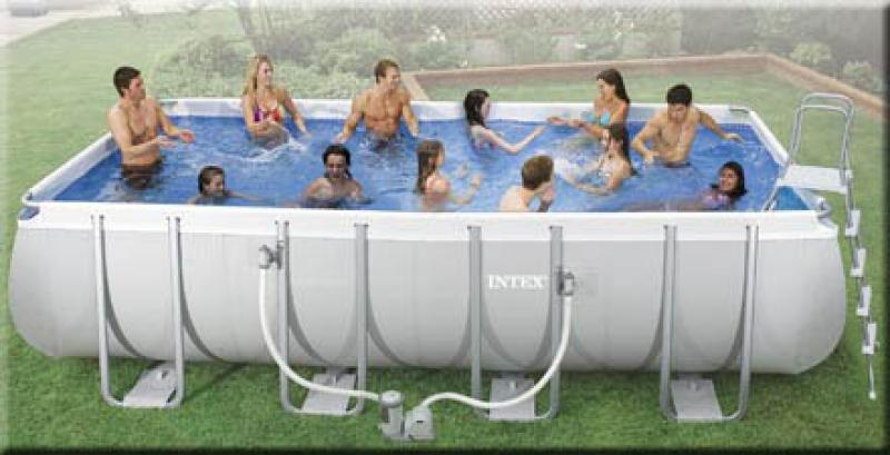 Charmant Piscine Gonflable Intex Gifi
