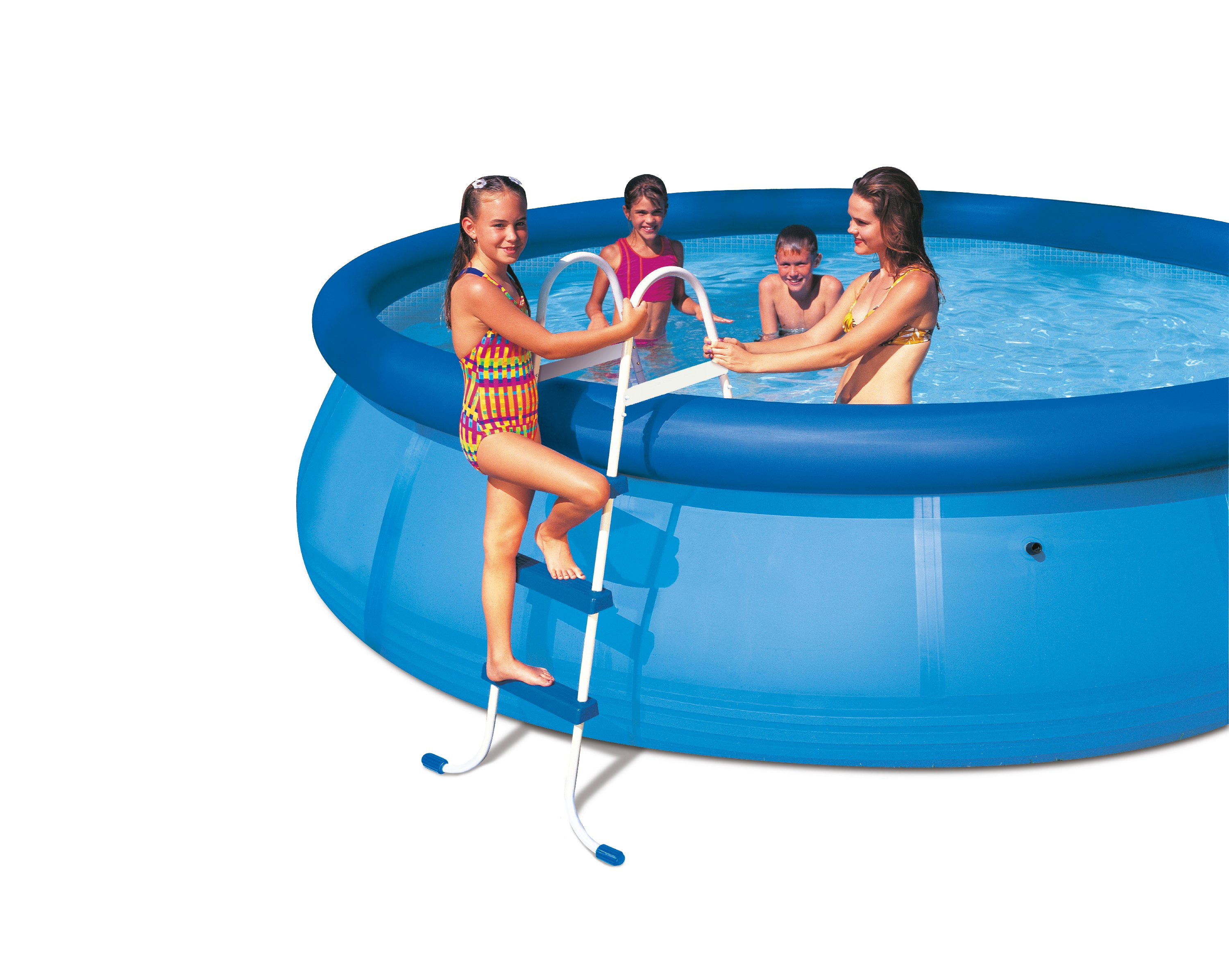Piscine autoportee pas cher easy set intex for Piscine gonflable pas cher