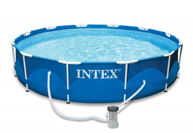Piscine autoportee intex for Piscine intex tubulaire
